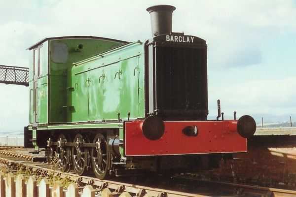 0-6-0 (jack shaft drive) diesel mechanical locomotive, ICI Dalbeattie No.1 (Admiralty Naval Stores from 1946)