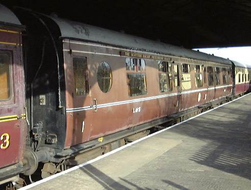 Br Lms Design Corridor Composite Coach No 24725