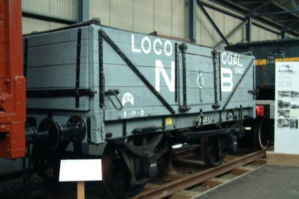 8 ton double ended Mineral Wagon NBR No.65013