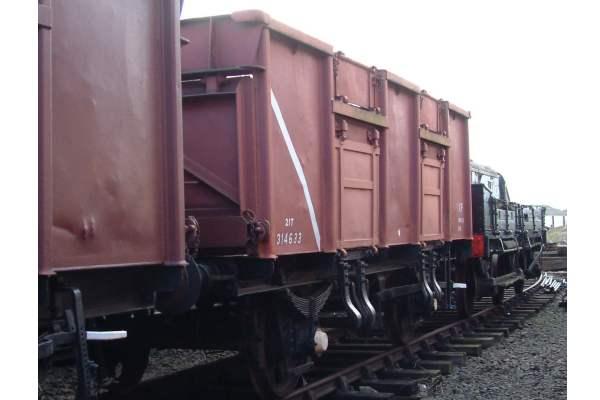 21 Ton Mineral Wagon  British Railways No B314633