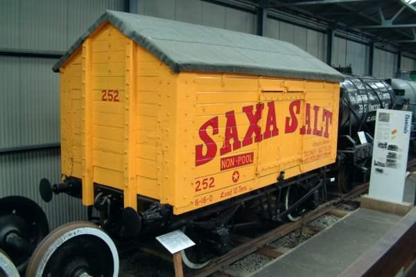 Used Work Vans >> 10 ton Salt Wagon, Saxa Salt No.252