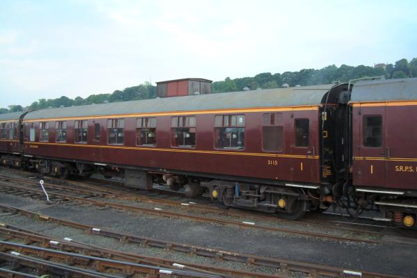 British Railways Mk.1 First Class Open coach No.3115