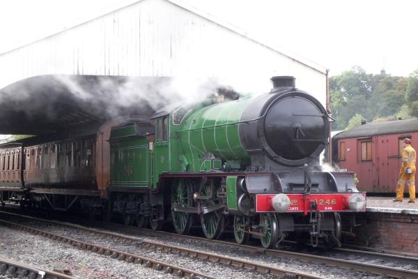 4-4-0 LNER Class D49 'Shire' No.246 'Morayshire' locomotive picture