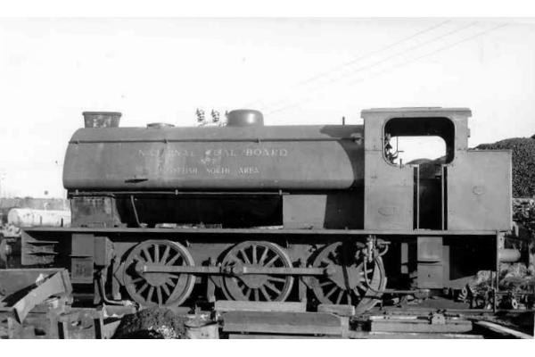 0-6-0ST National Coal Board, Alloa Area No.7 locomotive picture